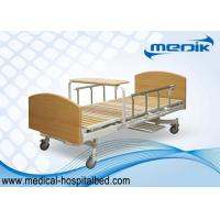 Buy cheap Multifunction Manual Patient Nursing Home Beds With Side Rails from wholesalers