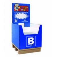 Buy cheap 4c Printing Cardboard Retail Pallet Displays , Pop Display Boxes For Toy from wholesalers