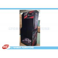 Buy cheap Black MDF Bicycle Accessories Display Stand Sticked With Ads / PET Boards from Wholesalers