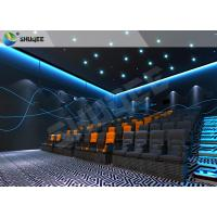 Buy cheap Vivid Muti-Dimensional 4D Movie Theater With Motion Seats , 4D Cinema Seats product
