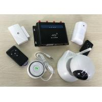Buy cheap Long Range Wifi Camera 4G Alarm System High Definition 32 Wireless 4 Wired Zones from wholesalers