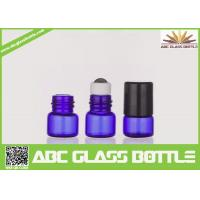 Buy cheap Wholesale Best Cheap Blue 1ml Empty Roll On Bottle Essentail Oil Glass Bottle from wholesalers