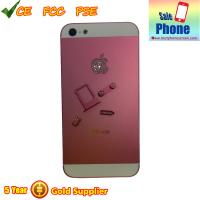 Buy cheap iPhone 5 Diamond Back Cover with Diamond APPLE Logo Pink from wholesalers