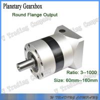Buy cheap 90mm planetary gearbox with gear ratio 5:1 for 86mm stepper Motor output shaft 12.7mm from wholesalers