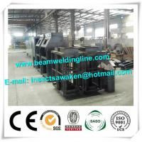 Buy cheap Roller Type Manual H Beam Shot Blasting Machine Sand Blasting Machine from wholesalers