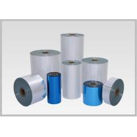 Buy cheap 50mic Single Layer PVC Heat Shrink Film, Flexible Pvc Film For Pocket Shrink Sleeve from wholesalers