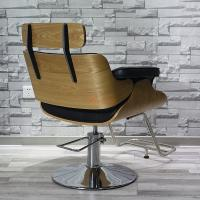 Buy cheap Beiqi antique used salon chairs sales cheap hairdresser barber chair hair salon equipment from wholesalers