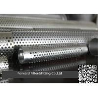 Buy cheap Stainless Steel round/square Perforated Tube-stainless steel exhaust perforated tube from wholesalers