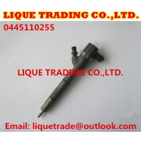Buy cheap BOSCH Common rail injector 0445110255, 0445110256 for HYUNDAI & KIA 33800-2A400 from wholesalers