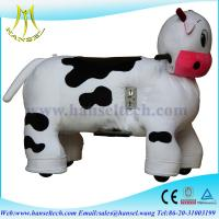 Buy cheap Hansel Electric Animal Battery Toy Stuffed Toys On Animals Plush Wheel Animals / Ride On from wholesalers