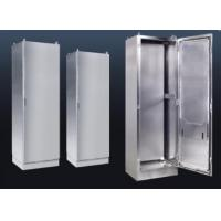 Buy cheap Stand Alone Stainless Steel Electrical Enclosures With Wire Drawing Surface Treatment product