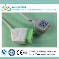 Buy cheap Nihon kohden ECG trunk Cable,Nihon Kohden JC-906P ecg monitor cable, IEC product
