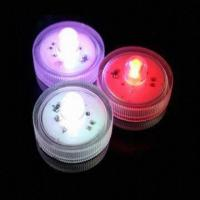 Buy cheap Waterproof LED Submersible Floralytes Tealight Candle, Battery Operated from wholesalers