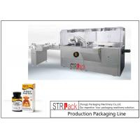 Buy cheap Stable Performance Bottle Packing Machine / Automatic High Speed Cartoning Machine from wholesalers