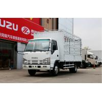 Buy cheap HW76 Cab Euro II Small Cargo Truck 8x4 4x2 300l Fuel Tanker Capacity Multi Color from wholesalers