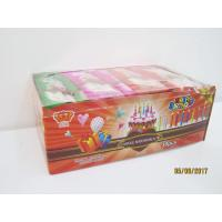 Buy cheap Happy Birthday Candle Marshmallow Candy / 11g /4 Pcs In One Bag Twist Cotton Candy from Wholesalers