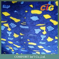 Buy cheap Colorful Printing Auto Upholstery Fabric , Car Upholstery Fabric  200g to 380g/sqm product