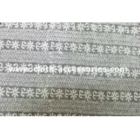 Buy cheap Guipure Off White Lace Fabric / T - Shirt Elegant Mesh Lace Fabric Trims from wholesalers