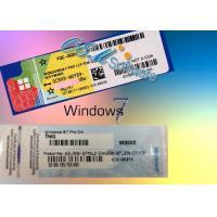 Buy cheap Hologram Windows 7 Coa Sticker Win 7 Pro Oem Online Activation Key product