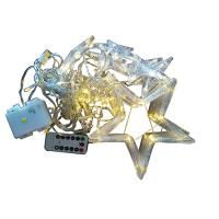 Buy cheap USB and battery powered star curtain light with remote controller from wholesalers