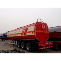 Buy cheap CIMC 3 Axles Aluminium Alloy Fuel Tank With Chassis Trailers from wholesalers