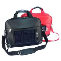 Buy cheap Waterproof  Nylon Laptop Solar Charging Backpack With USB Battery Backup from wholesalers