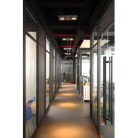 Buy cheap 2017 China hot sales Divider waterproof sound proof cheap panel material design decorative aluminum glass room  BS-6127W from wholesalers