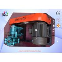 Buy cheap 1.5 / 1 B - AH Metal Lined Centrifugal Slurry Pump For Transporting Sand and Gravel from wholesalers