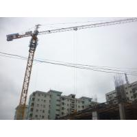 Buy cheap Building Construction Hydraulic Self Raising Tower Crane Equipment With Three Speed Motor from wholesalers