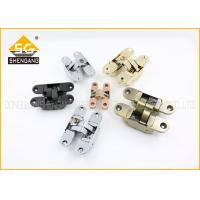 Buy cheap Customized Italian Hinges Size 111.5*29*36 mm Adjustable Invisible Door Hinges For Wood Door from wholesalers