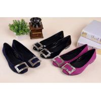 Buy cheap Hot sales 2014 Genuine leather office lady fashion shoes with rhinestone buckle from wholesalers