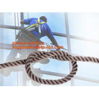 Buy cheap wall-wash nylon twisted safety rope, wall-wash nylon safety rope from wholesalers