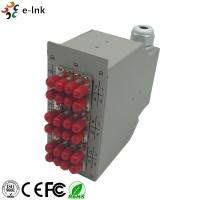 Buy cheap Splice Distributor Ethernet Patch Panel DIN-Rail Mounting Options PG Gland Strain Relief from wholesalers