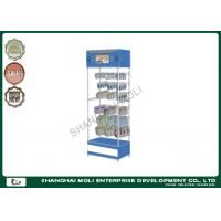 Buy cheap Custom durable 4 tiers headphone display rack for retail shop display units from wholesalers