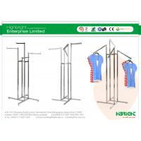 Buy cheap Clothes Display Racks 4 Way Arms Chrome Series HBE-GS-1 from wholesalers