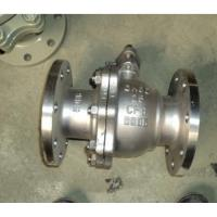Buy cheap SS 2 Piece Flanged Floating Ball Valve API 608 Class 300 For Water from wholesalers