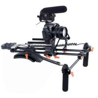 Buy cheap New PRO dslr rig kit with Motorized Follow Focus Shoulder Rig Support Pad from wholesalers