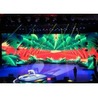 Hd Led Advertising Display Indoor 3.91mm Aluminium Panel For Stage Rental