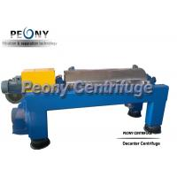 Buy cheap Full Automatic Screw Decanter Centrifuges Soy Isolate Protein Decanter Centrifuge from wholesalers