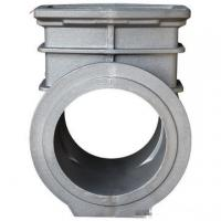 OEM Ductile Cast Iron Pipe Fittings Anodized Zinc Plating For Automobile Industry Agriculture
