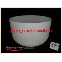 Buy cheap Frosted Chakra Crystal Singing Bowls from wholesalers