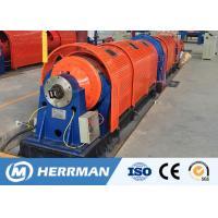 Auto Wire Cable Machine , Rigid Stranding Machine 1.3~5.0mm Single Wire Diameter