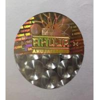 Buy cheap Hologram laser sticker labels, cheap custom anti counterfeit hologram sticker security/anti fake label OEM Available from wholesalers