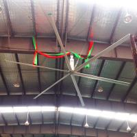 Buy cheap Industrial Large HVLS Ceiling Fans / 16 Foot Ceiling Fan For Distribution Centers from wholesalers