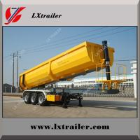 Buy cheap 50 ton 3 axles end trailer dump / end tipping truck trailers from wholesalers
