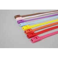 Buy cheap 8*350mm colorful red orange pink purple blue color playground equipment cable ties product