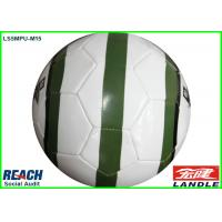 Buy cheap Hand Stitched Kids Soccer Ball Size 4 / 3 / 2 / 1 With International Flags from wholesalers