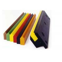 Buy cheap Solvent Resistant PU Polyurethane Screen Printing Squeegee Blade Scraper from wholesalers