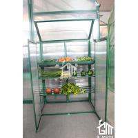 Buy cheap 38. 5x 76 x 98.5cm Green Color Nursery Series Aluminum Greenhouse from wholesalers