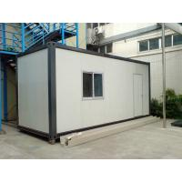 Buy cheap Cold Rolled Steel Storage Container Houses , Portable Storage Containers from wholesalers